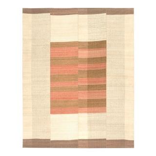 20th Century Vintage Kilim Composition Rug- 9′ × 11′4″ For Sale