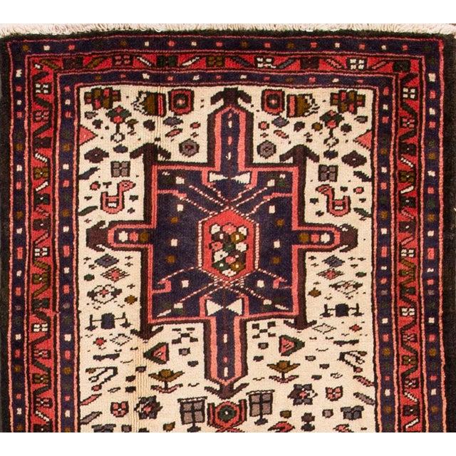 "Islamic Apadana - Vintage Persian Heriz Rug, 2'1"" x 6'7"" For Sale - Image 3 of 5"