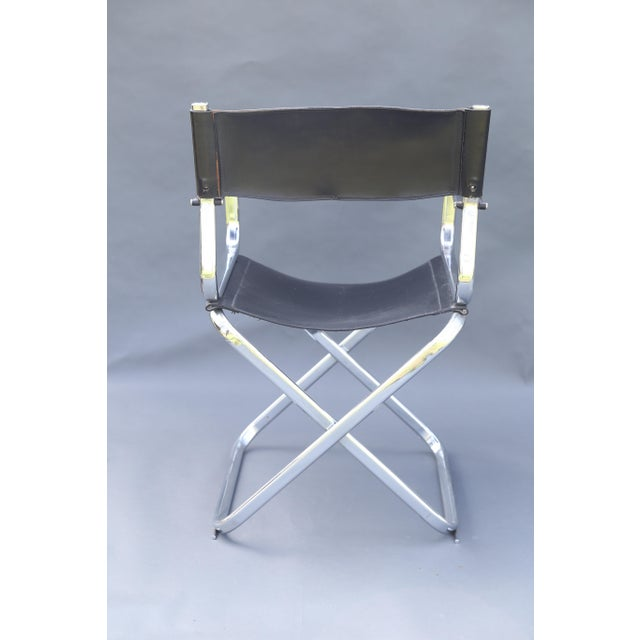 Arrben Italian Leather & Chrome Chairs - A Pair - Image 7 of 10
