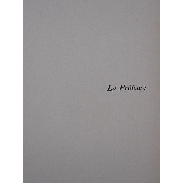 """Vintage Ltd. Ed. Hand Colored Image By Guy Arnoux""""Les Femmes De Ce Temps""""-La Froleuse (The Seductive Woman)""""-France-1920 - Image 3 of 7"""
