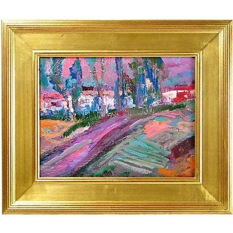 Juan Guzman Riverside Painting For Sale
