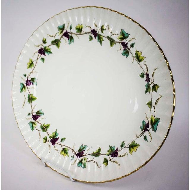 Traditional Vintage Royal Worchester Bacchanal Pattern Large Serving Platter For Sale - Image 3 of 5