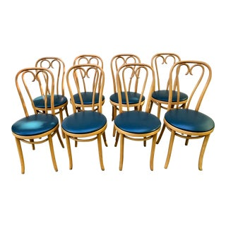 Thonet Style Bentwood Cafe Ice Cream Dining Chairs- Set of 8 For Sale