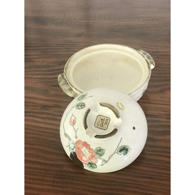 Asian Vintage Marukyo Japanese Lidded Casserole For Sale - Image 3 of 7