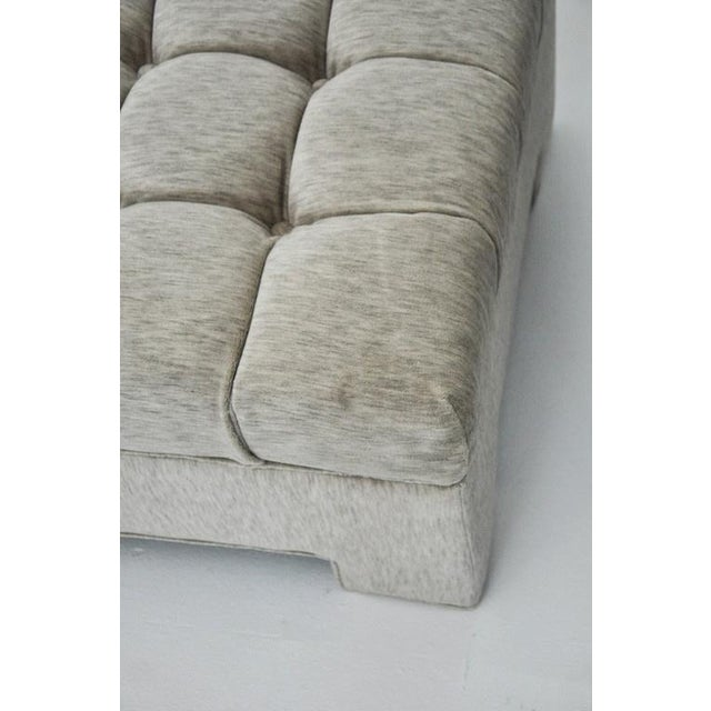 Early 20th Century Milo Baughman Tufted Ottomans For Sale - Image 5 of 5