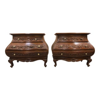Pair of Spanish Bombay Chests For Sale