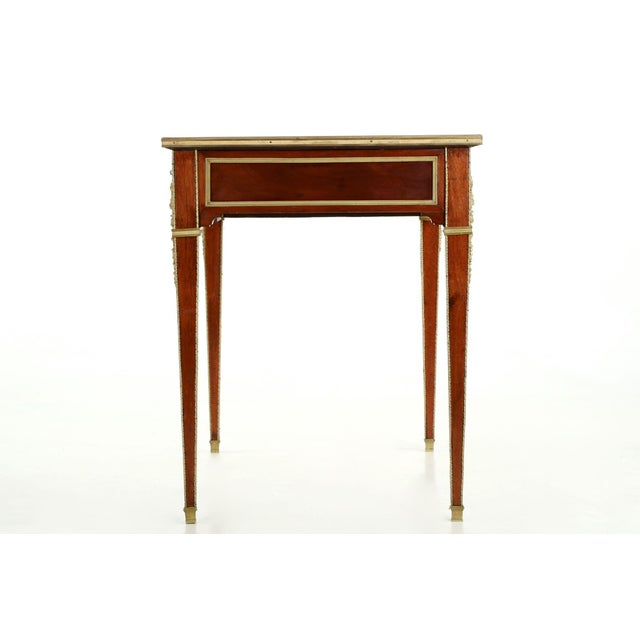 1900 Antique French Neoclassical Mahogany Writing Desk For Sale - Image 6  of 11 - 1900 Antique French Neoclassical Mahogany Writing Desk Chairish