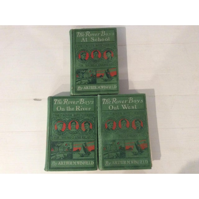 Early 1900s Books: The Rover Boys' Series for Young Americans - Set of 3 - Image 2 of 10