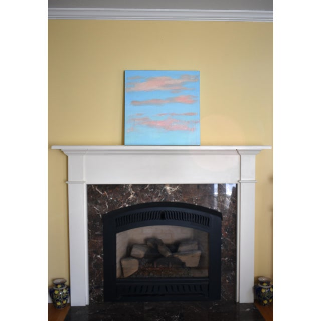 "Modern ""Cloud Study"" Contemporary Painting by Stephen Remick For Sale - Image 10 of 11"