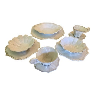 Astier De Villatte Tea Set - Service for 2 For Sale
