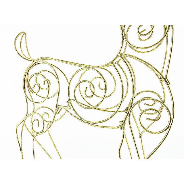 Vintage Tall Wire Christmas Reindeer - Image 5 of 5