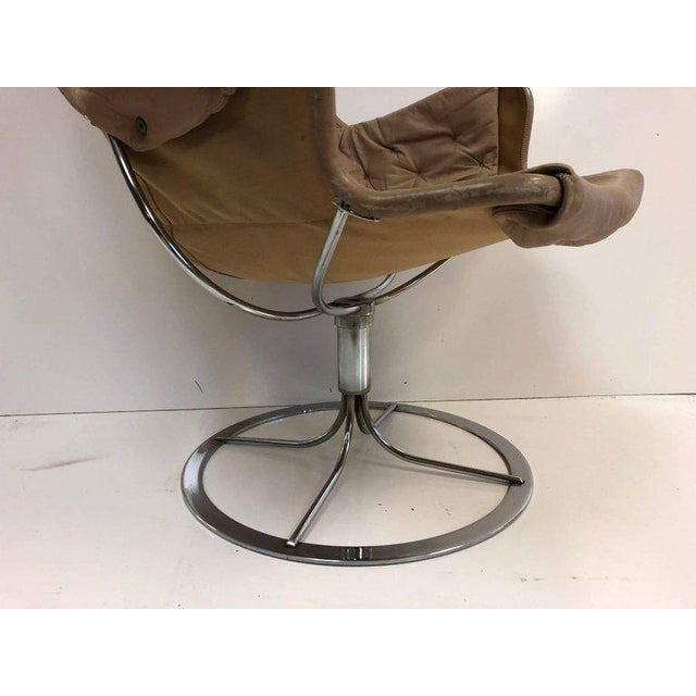 Pair of Bruno Mathsson Jetson Lounge Chairs for DUX - Image 4 of 6