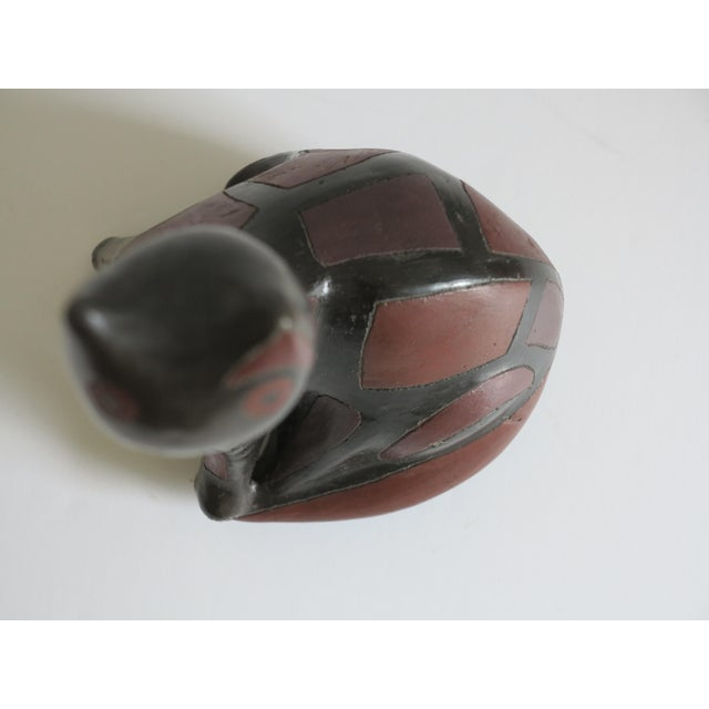 Ceramic Mid-Century Ceramic Pottery Cat by Manuel Felguerez Barra For Sale - Image 7 of 9