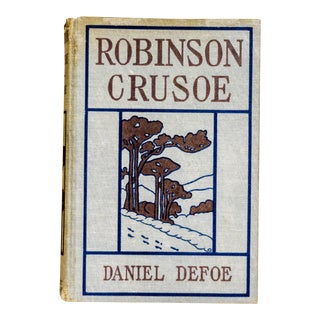 "Vintage 1927 Edition ""Life and Strange Surprising Adventures of Robinson Crusoe"" by Daniel Defoe"