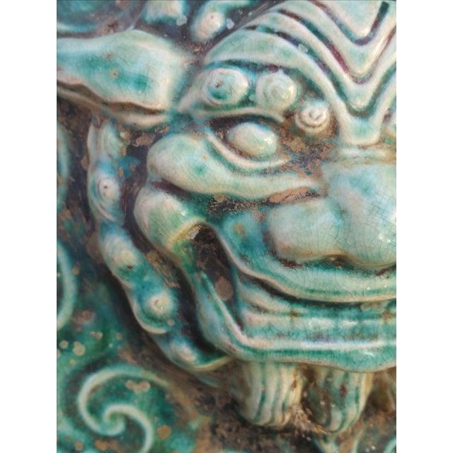 Salvaged Gargoyle Wall Plaque - Image 4 of 5