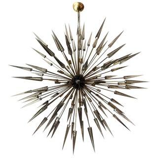 Italian Sole Sputnik Chandelier by Fabio Bergomi For Sale