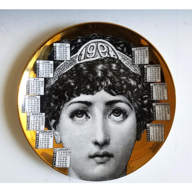 Barnaba Fornasetti Calendar Plate for 1994 - Image 2 of 6