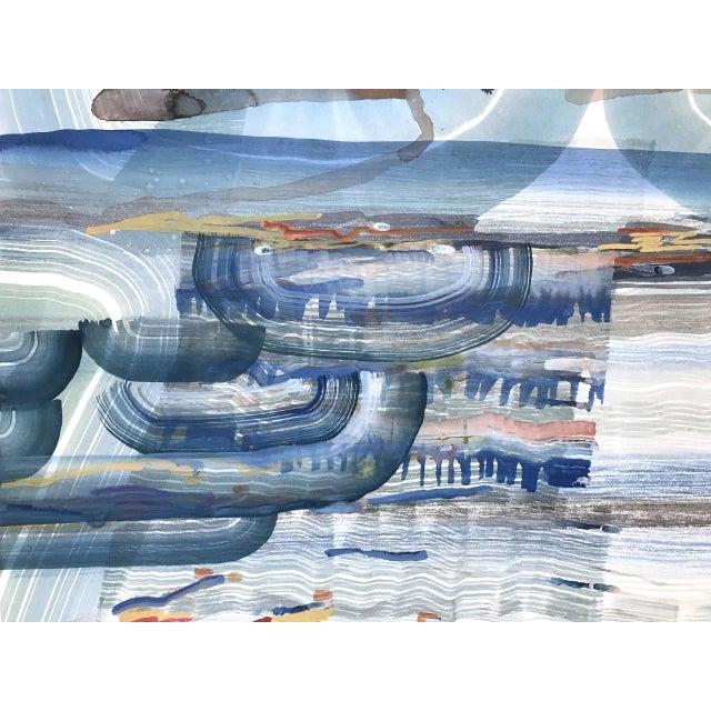 "Josette Urso Josette Urso ""Salt Sea"" Painting, 2018 For Sale - Image 4 of 5"