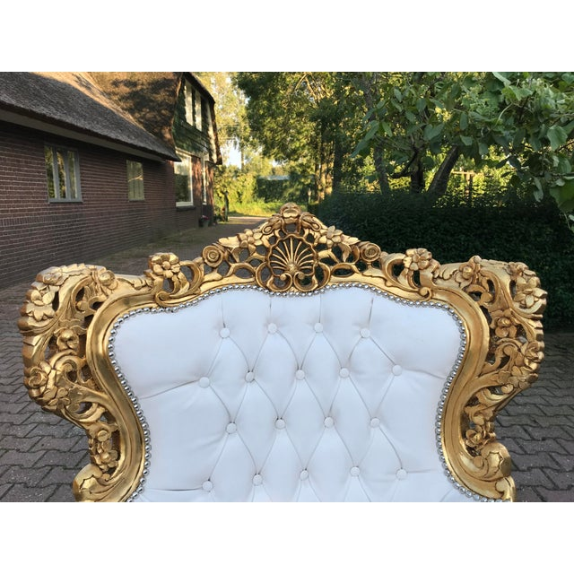 1940's Italian Rococo Living Room Set- 3 Pieces For Sale - Image 10 of 12