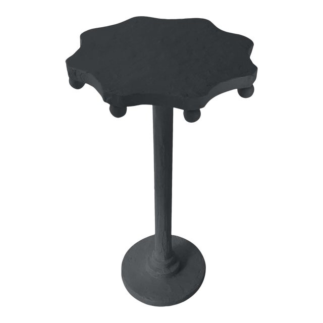 Teatro Accent Table in Ebony King For Sale