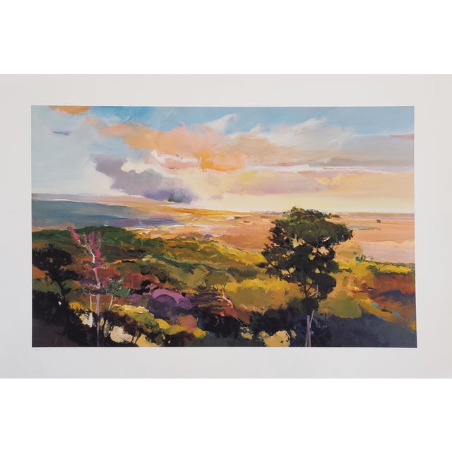 Lithograph John Maxon Limited Edition Landscape Print For Sale - Image 7 of 7