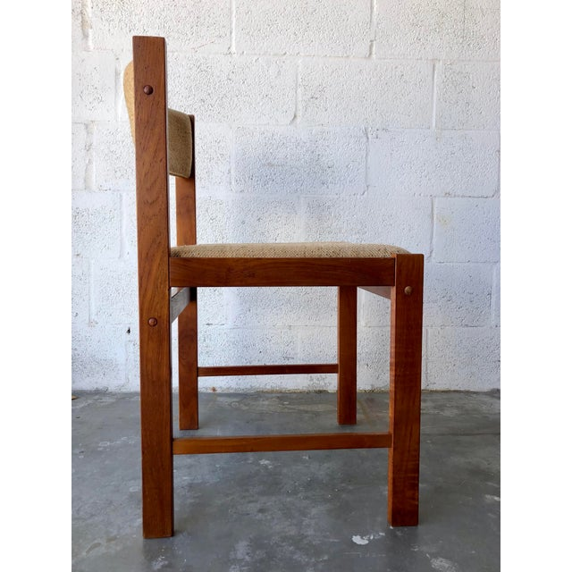 Vintage Mid Century Danish Modern Style Dining Chairs (Set of Four) For Sale - Image 10 of 13