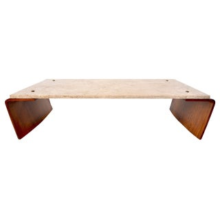 Jorge Zalszupin Romana Center Table Brazilian Mid Century Modern For Sale
