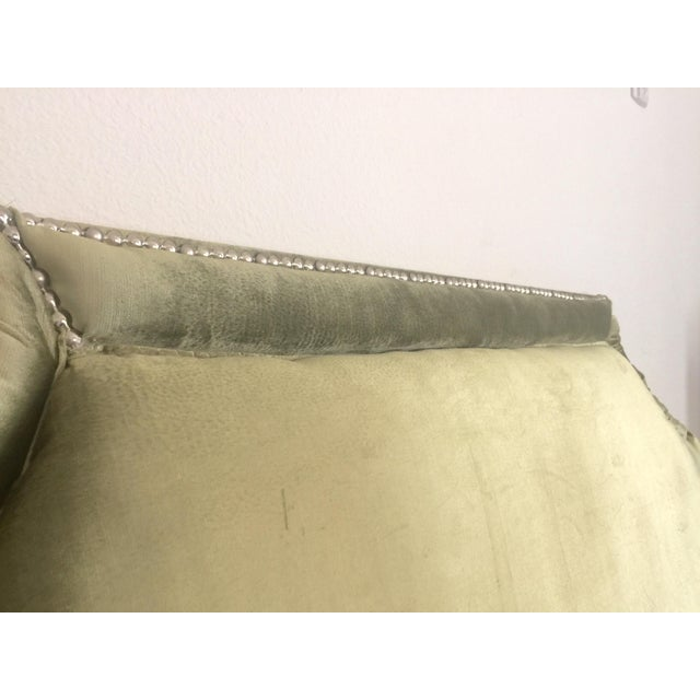 Queen Size Olive Green Headboard - Image 5 of 6