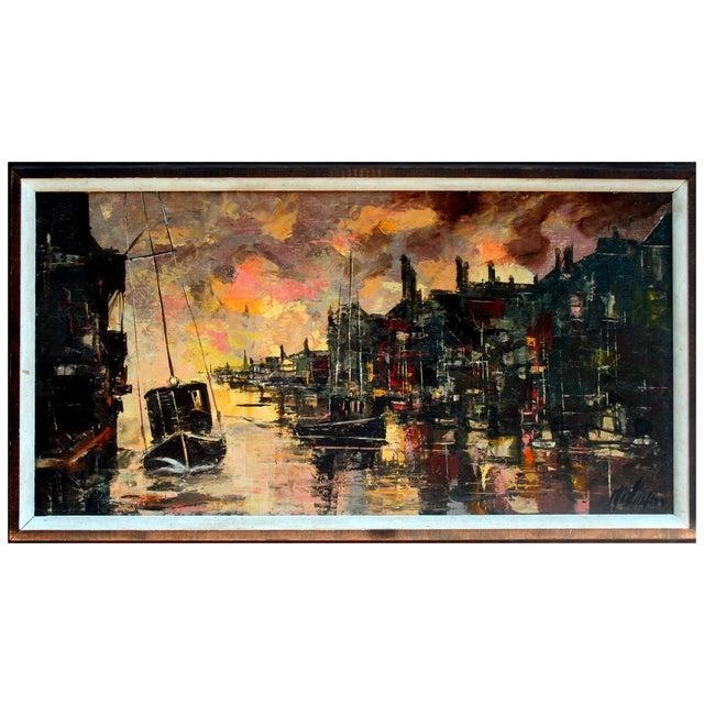 """Noyo Harbor, Fort Bragg"" Painting - Image 1 of 3"