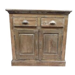 2-Drawer 2 Door Cabinet For Sale
