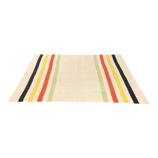 Vintage Wollen Mills Wool Mariposa Blanket For Sale
