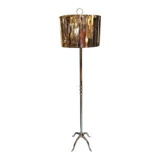 Selezioni Domus Modern Chrome Floor Lamp For Sale