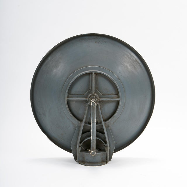 Industrial Vintage Industrial Parabolic Antenna Reflector C. 1940 For Sale - Image 3 of 5