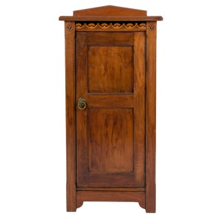 Late 19th Century Antique Christopher Pratt & Sons Art Nouveau Music Cabinet For Sale