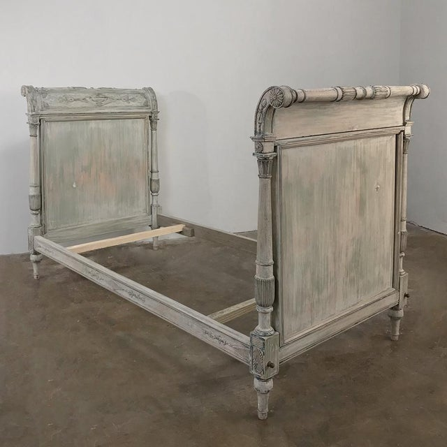 19th Century Painted Directoire Day Bed For Sale - Image 4 of 13