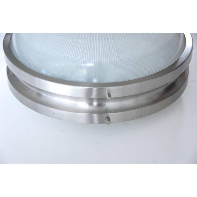 Silver Sergio Mazza for Artemide Flush Mount or Wall Mount Fixtures For Sale - Image 8 of 10