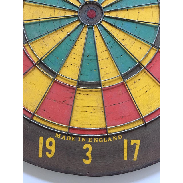 Vintage Regent Dart Board For Sale - Image 4 of 8