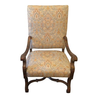 English George III Polychromed Chair For Sale