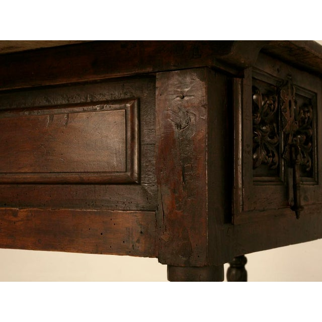 Spanish Console/Sofa Table with Three Deep Drawers For Sale - Image 4 of 10