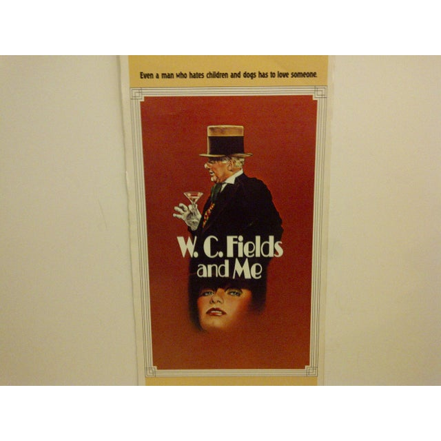 "Contemporary Vintage Movie Poster ""W.C. Fields and Me"" Rod Steiger & Valerie Perrine - 1976 For Sale - Image 3 of 5"