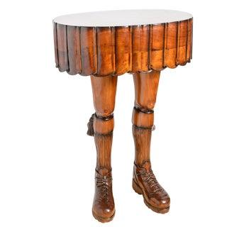Scotsman's Kilt & Leg Table For Sale