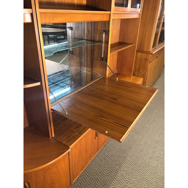 Mid-Century Modern Mid Century Teak Modular Wall Unit by G Plan For Sale - Image 3 of 13