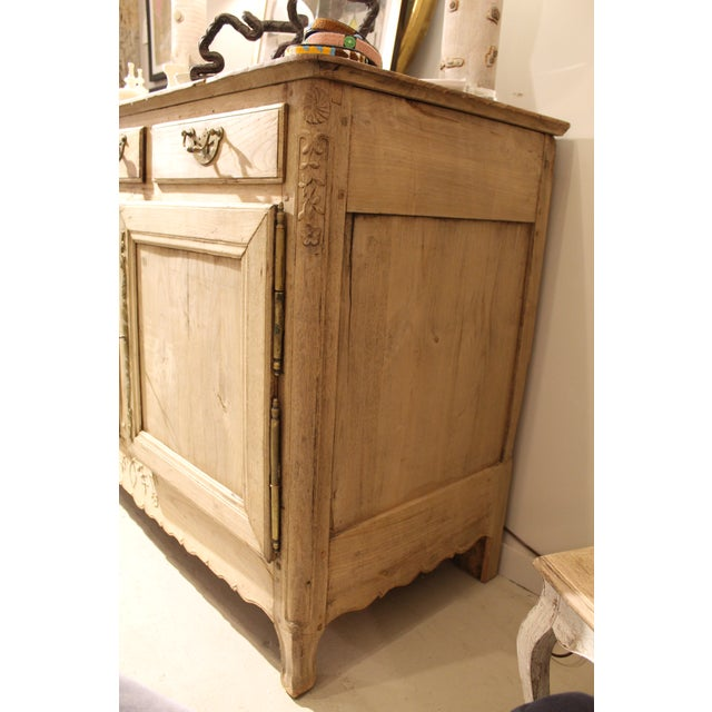 Beautiful 19th century buffet. Provides a lot of storage and comes with the original key. Original belched wood with...