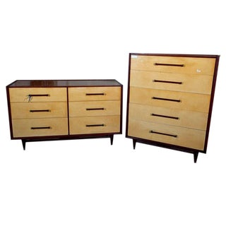 Pair of Mid-Century Chests, Commode For Sale