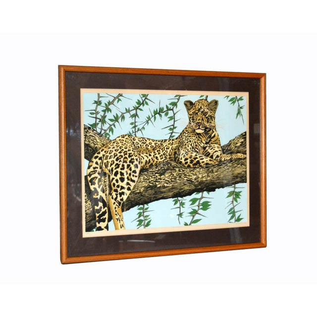 Original Lithograph 'Cheetah' Signed by Artist Mac Couley For Sale - Image 11 of 13