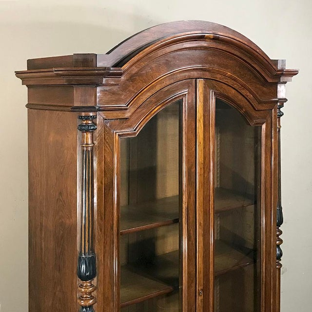 Mid 19th Century 19th Century French Louis Philippe Rosewood Bookcase For Sale - Image 5 of 12