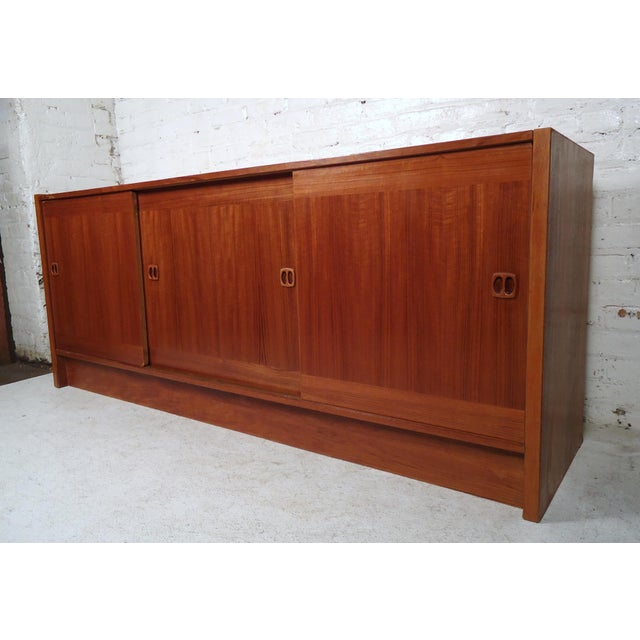 Mid-Century Modern Danish Credenza For Sale - Image 11 of 11
