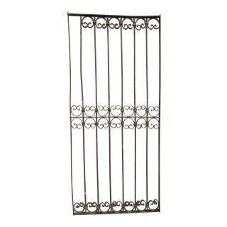 Antique Victorian Iron Gate # 334 For Sale