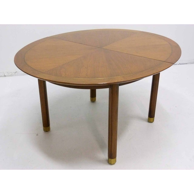 Baker Far East Round-to-Oval Dining Table - Image 5 of 10