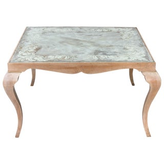 Eglomise Coffee Table For Sale